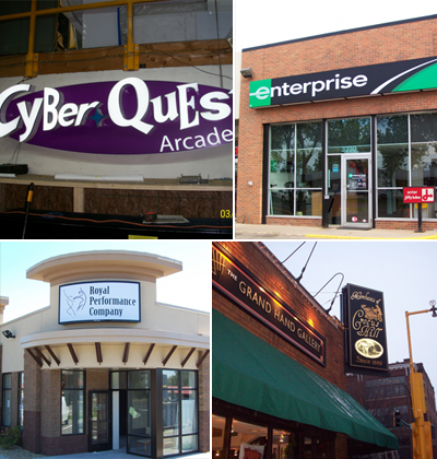 Four Kinds of Companies with Cabinet Signs in Minneapolis, MN